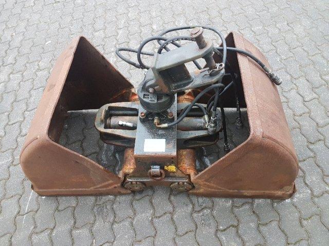 KINSHOFER 2-Schalen-Greifer - Drehservo  600 mm
