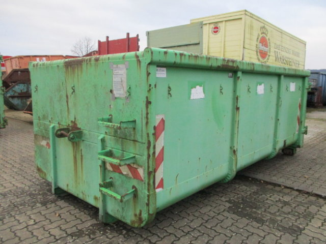 ALU STAHL Abroll City-Container