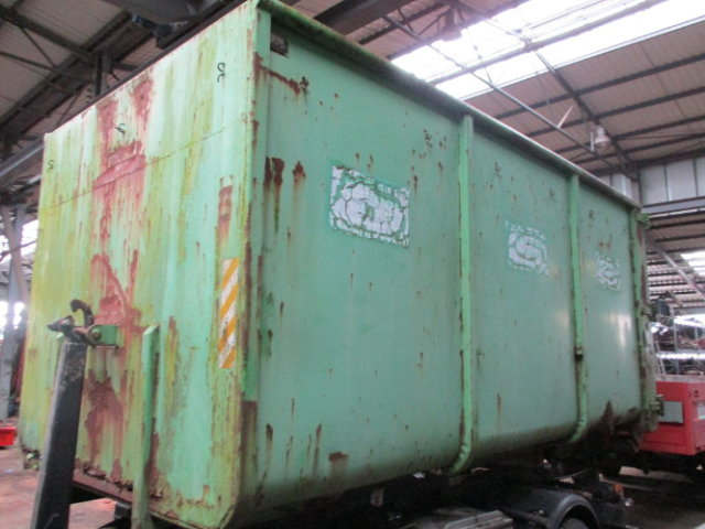 ALU STAHL Abroll City Container