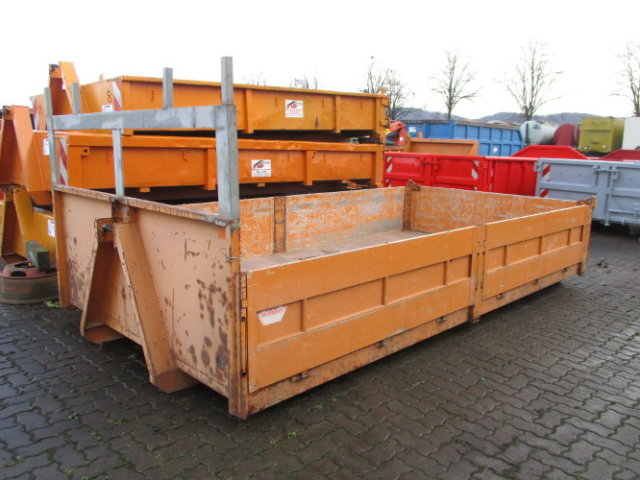 WESER CONTAINERBAU Abroll City Container Pritsche