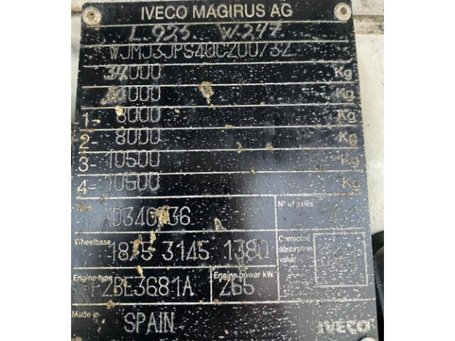Iveco-Magirus Trakker