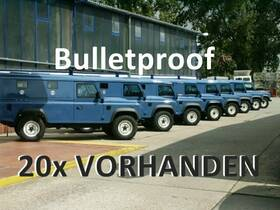 LAND ROVER (GB) NEU Armoured Defender 110 HAT 2,5 TDI