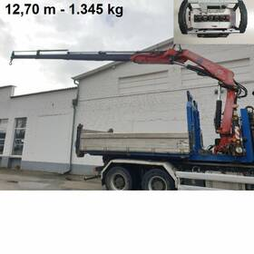 Abrollbehälter Abrollcontainer Fassi 235-4