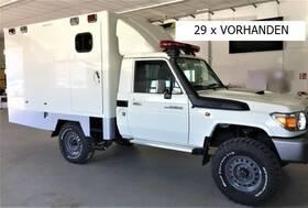 TOYOTA (J) Land Cruiser VDJ 79L SC TD4.5 V8