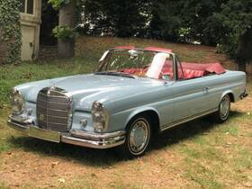 MERCEDES-BENZ 220 SEB Cabriolet, Matching numbers and colors