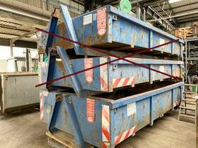 WESER CONTAINERBAU City-Abrollcontainer ca. 6,5m³