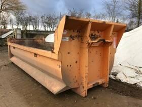 WESER CONTAINERBAU H31 Abrollcontainer Halbschalenmulde