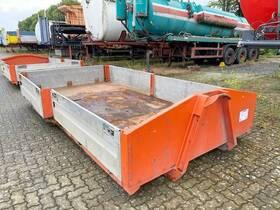 - City-Abrollcontainer mit Alu-Bordwänden ca. 5,5m³