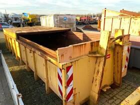 ROLAND TANKBAU Abrollcontainer mit Schiebedeckel
