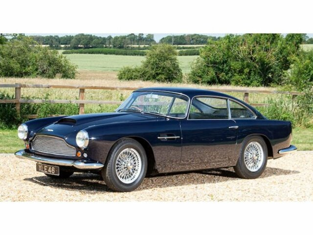 Aston Martin Gb Db 4 Serie I In Bovenden Detailansicht 48646 Gassmann