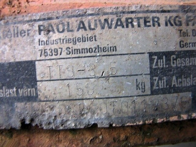 AUWAERTER,PAUL TT