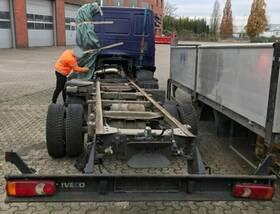 Iveco EuroCargo 80E22 4x2 mit UNFALLSCHADEN