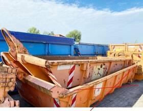 Andere stapelbarer Abrollcontainer mit Flügeltüren ca. 6,6m³