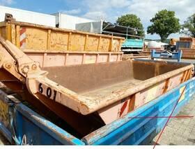 Andere stapelbarer Abrollcontainer mit Flügeltüren ca. 6m³