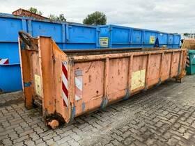 Andere S 27 Abrollcontainer mit Flügeltüren ca. 8,5m³
