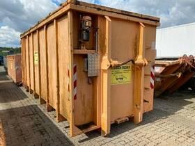 Andere GAB Abrollcontainer mit Flügeltüren & Deckel ca. 28m³