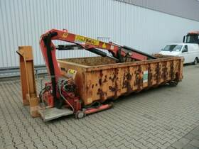 Andere Abrollcontainer mit Kran Palfinger PK8000