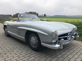 Mercedes-Benz 300 SL Roadster, Matching Numbers