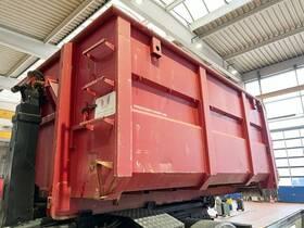 Andere Abrollcontainer mit Flügeltüren ca. 15m³