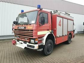 Scania 113 PH 4x4 Feuerwehr Rüstwagen